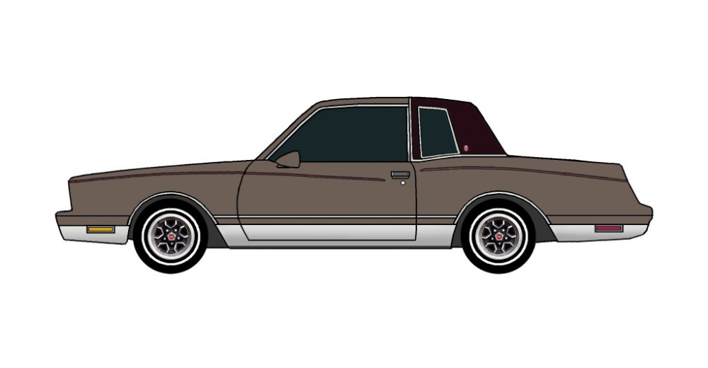 1981 Chevy Monte Carlo FRENCH GREY