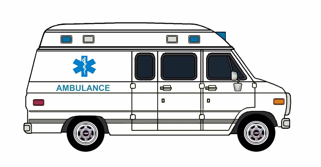 1985-96 Chevy G30 Ambulance WHITE