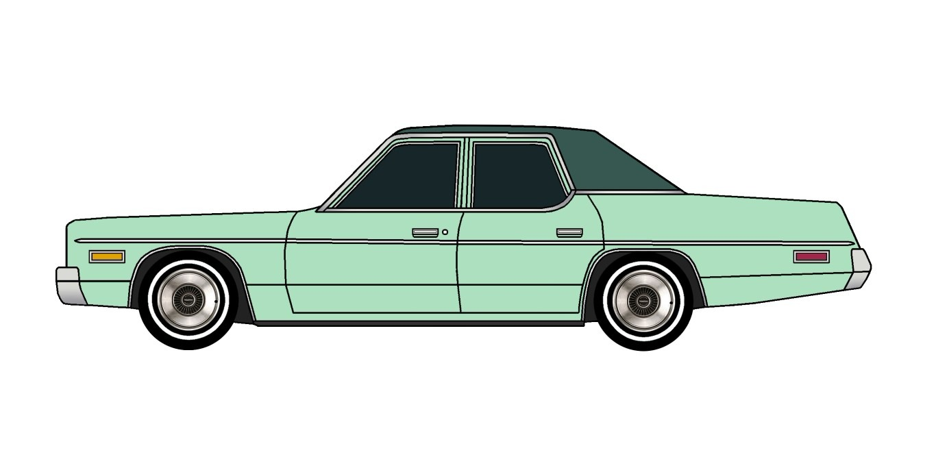1975 Dodge Monaco SEAFOAM GREEN