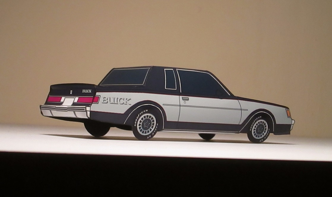 1982 Buick Grand National NAVY BLUE & PALE BLUE