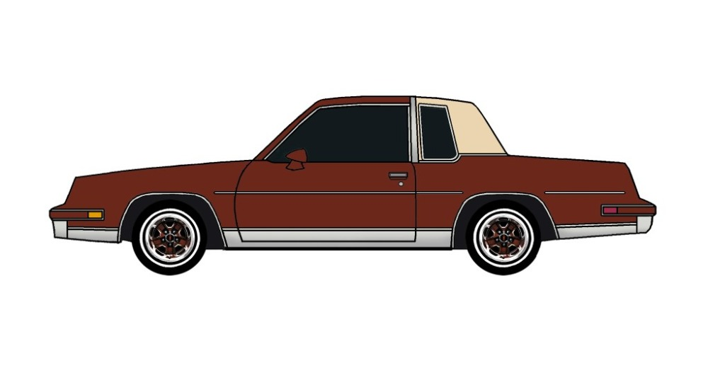 1984 Oldsmobile Cutlass TUSCAN BROWN