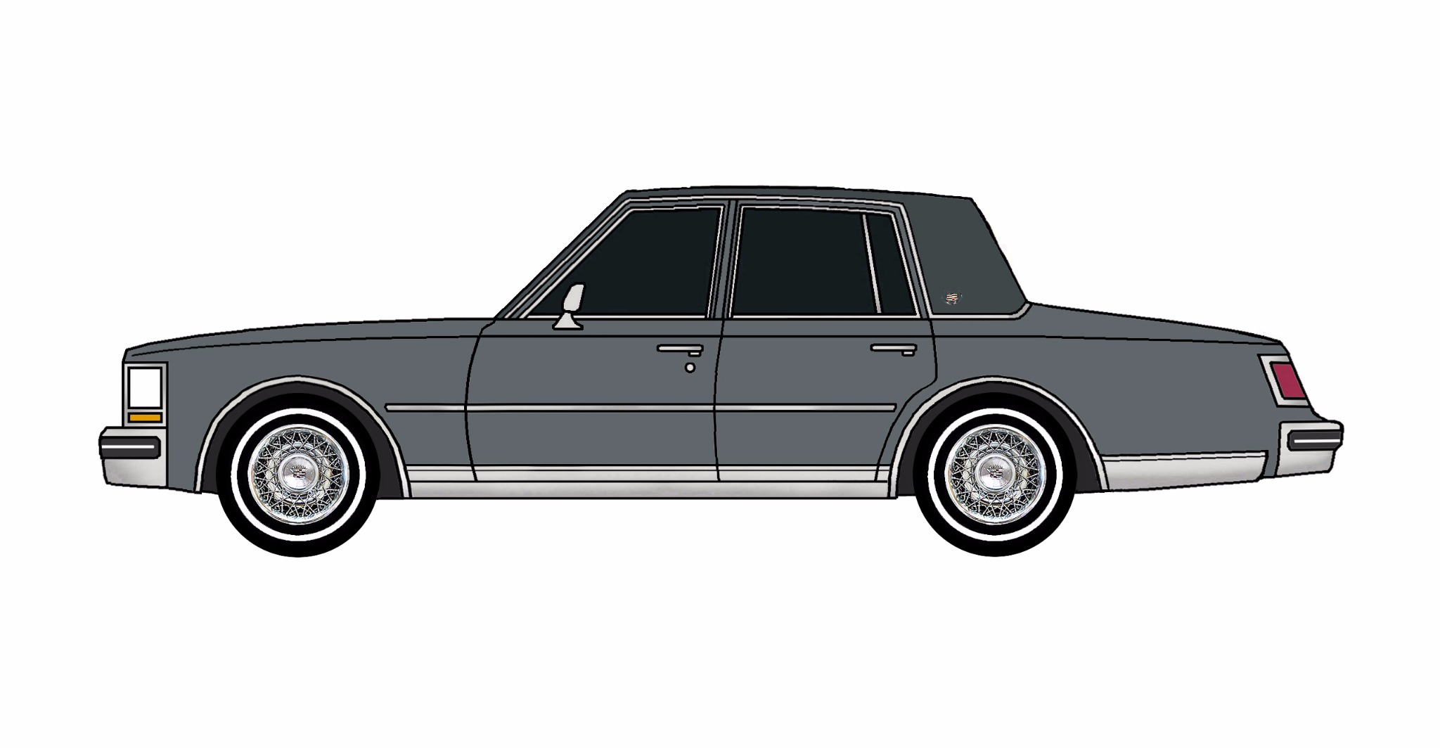 1976 Cadillac Seville CHARCOAL