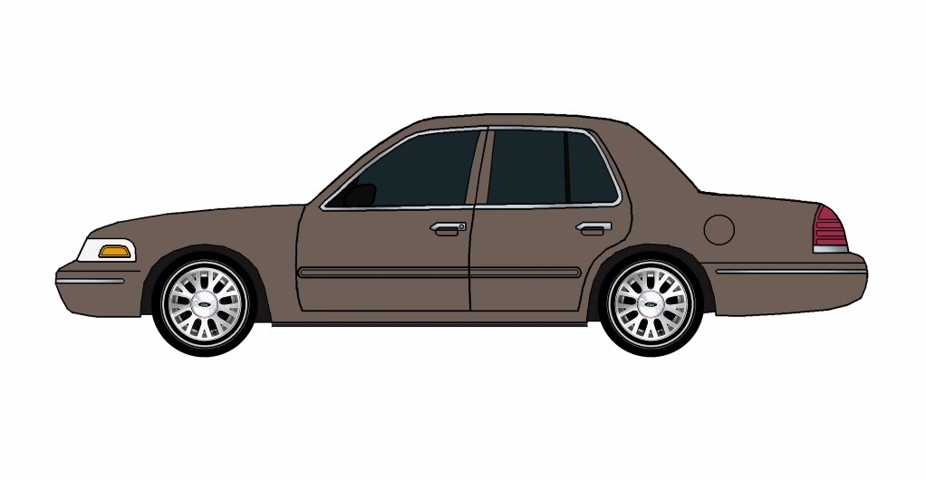 2005 Ford Crown Victoria FRENCH GREY