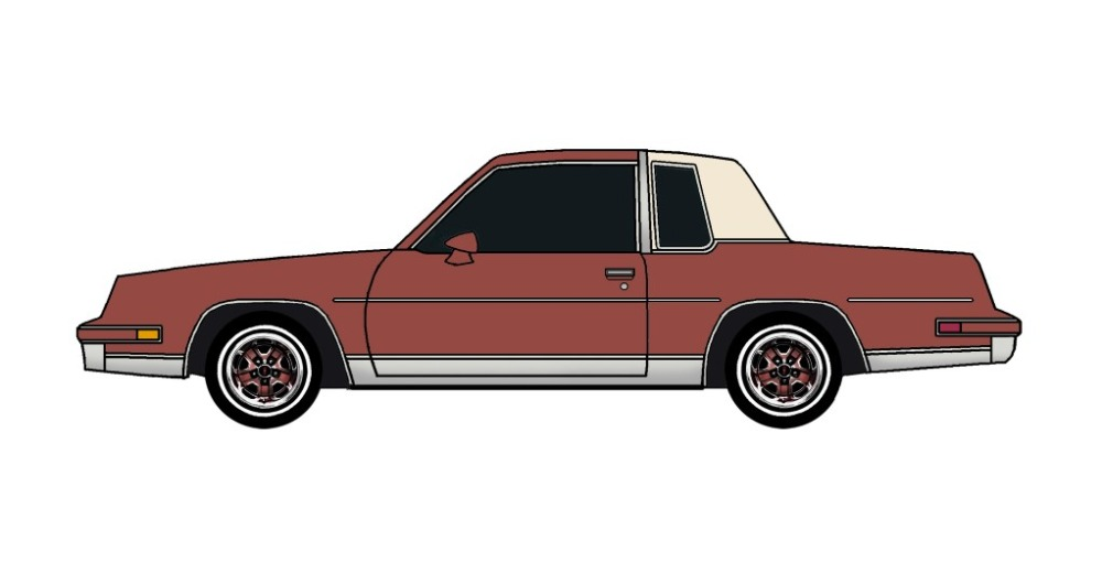 1982 Oldsmobile Cutlass CHERRY RED