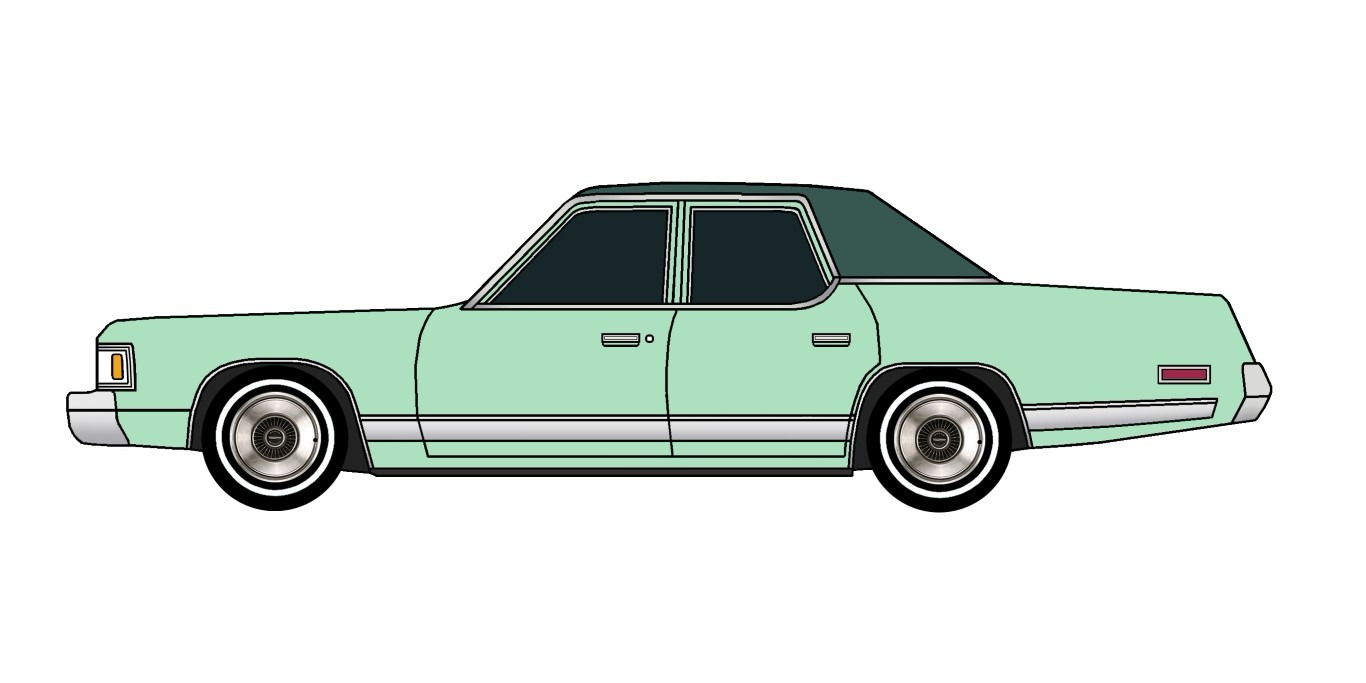 1977 Dodge Royal Monaco SEAFOAM GREEN