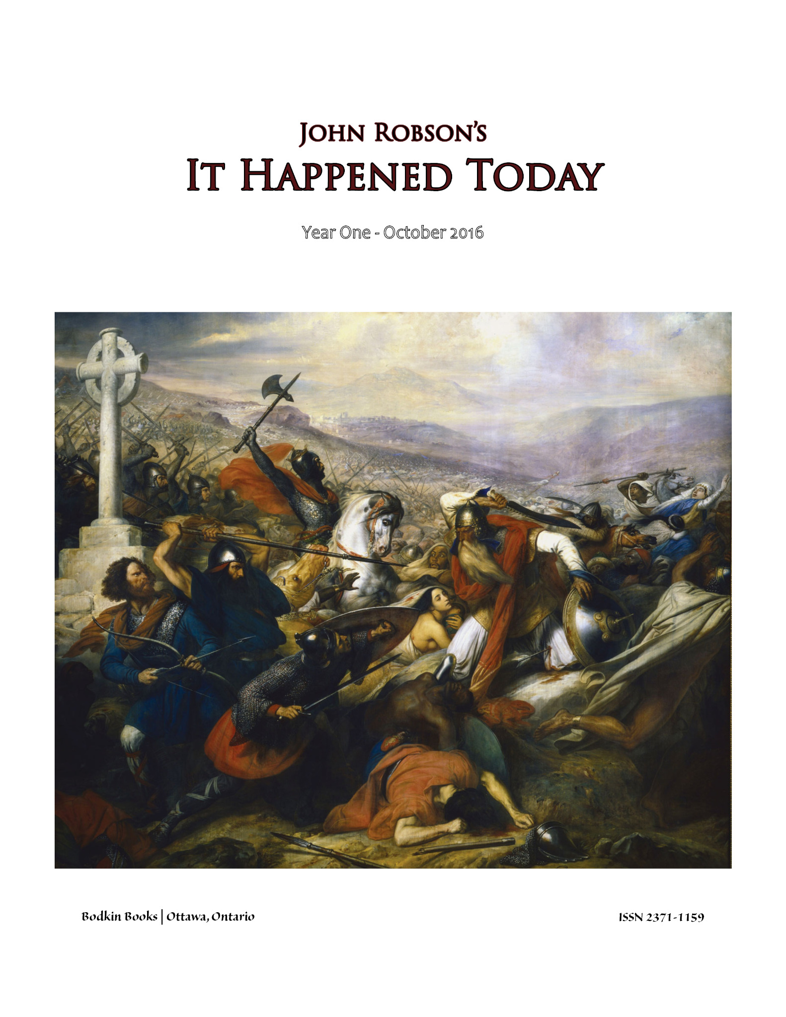 John Robson's It Happened Today - Year One - October