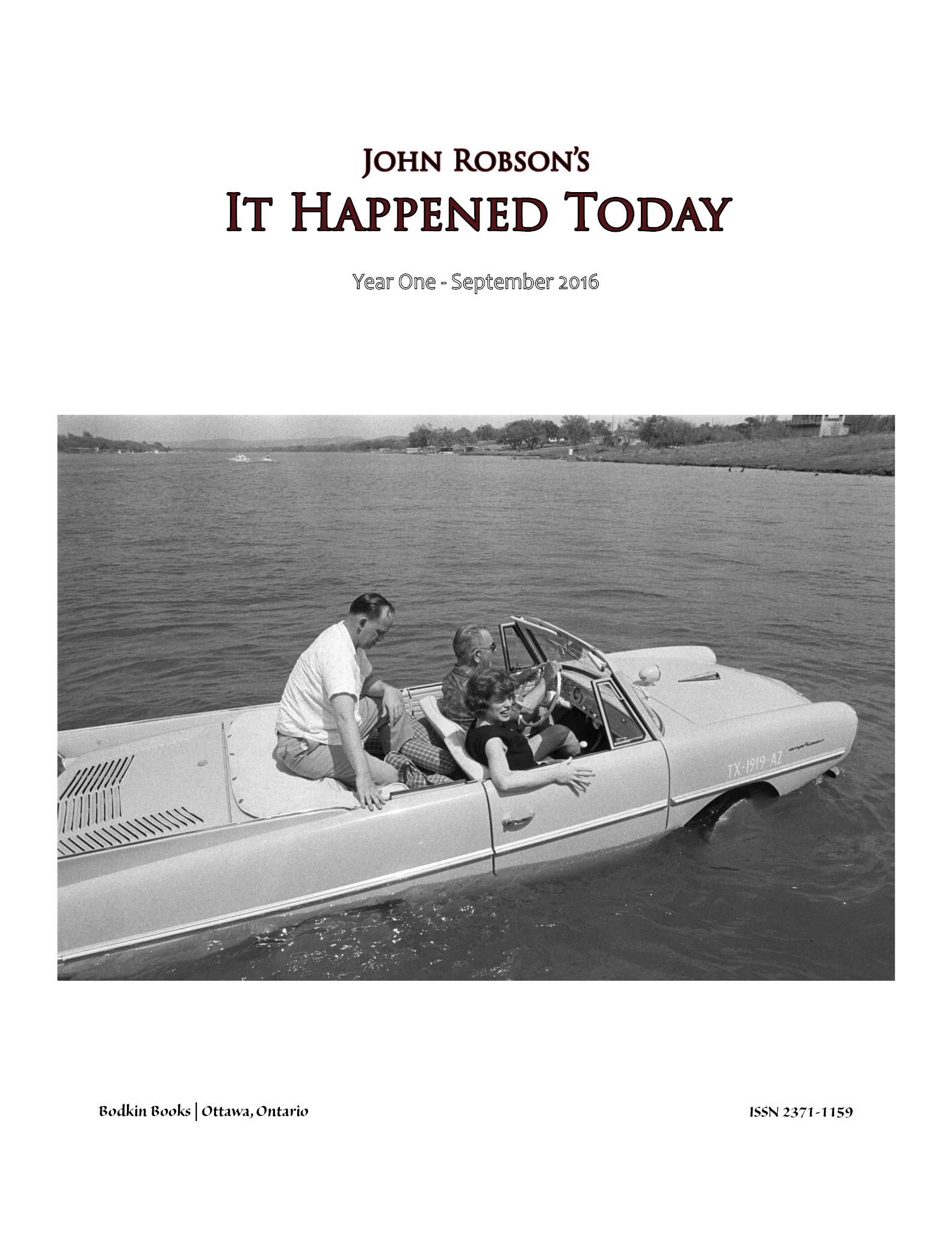 John Robson's It Happened Today - Year One - September