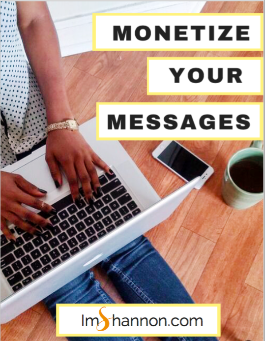 Monetize your messages