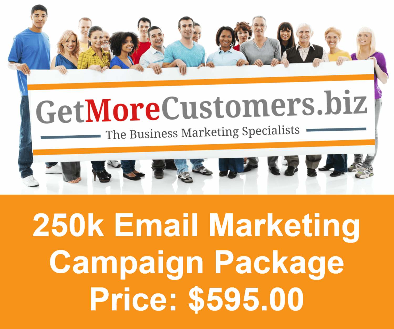 250k Email Campaign - $595.00