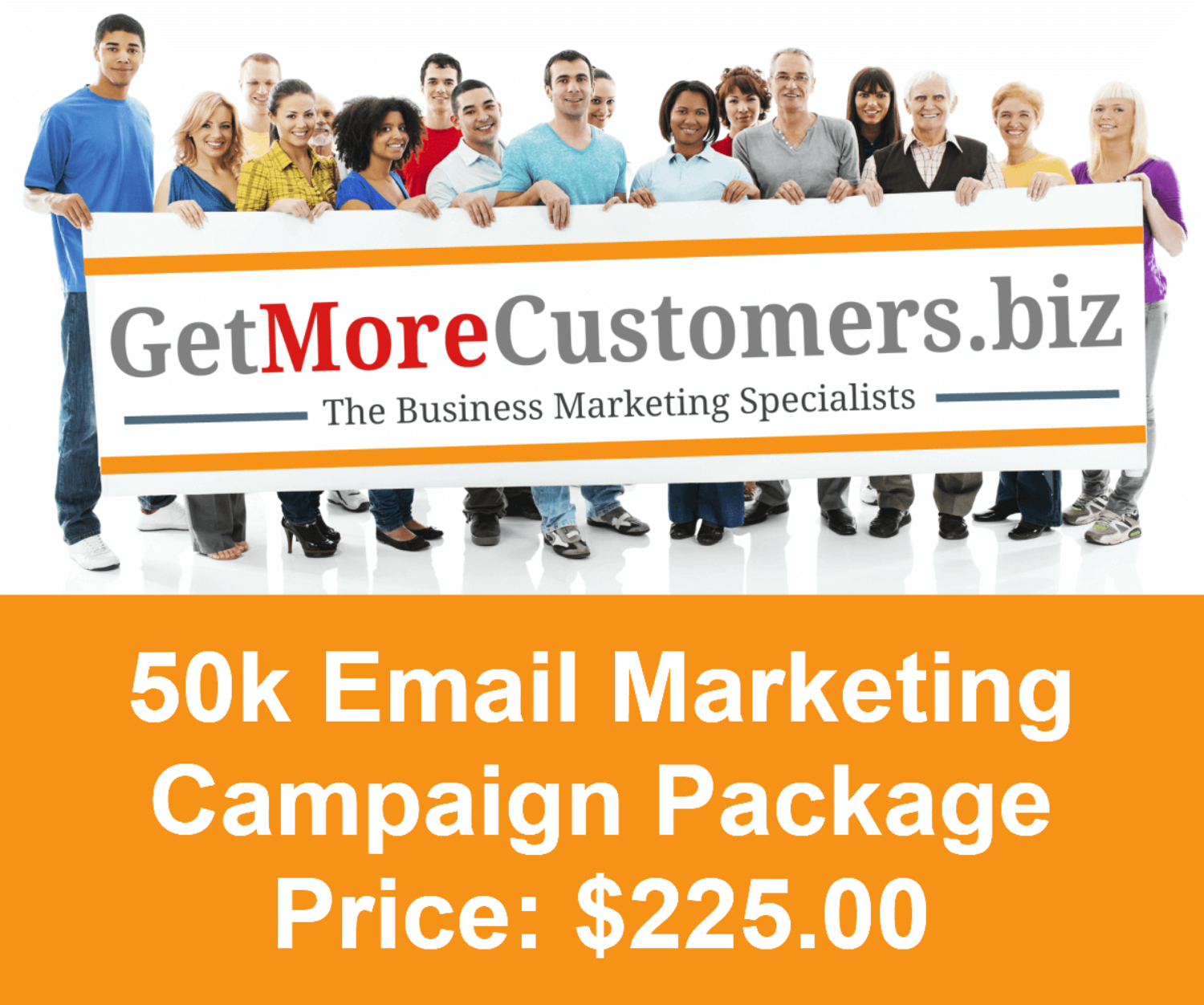 50k Email Campaign - $225.00