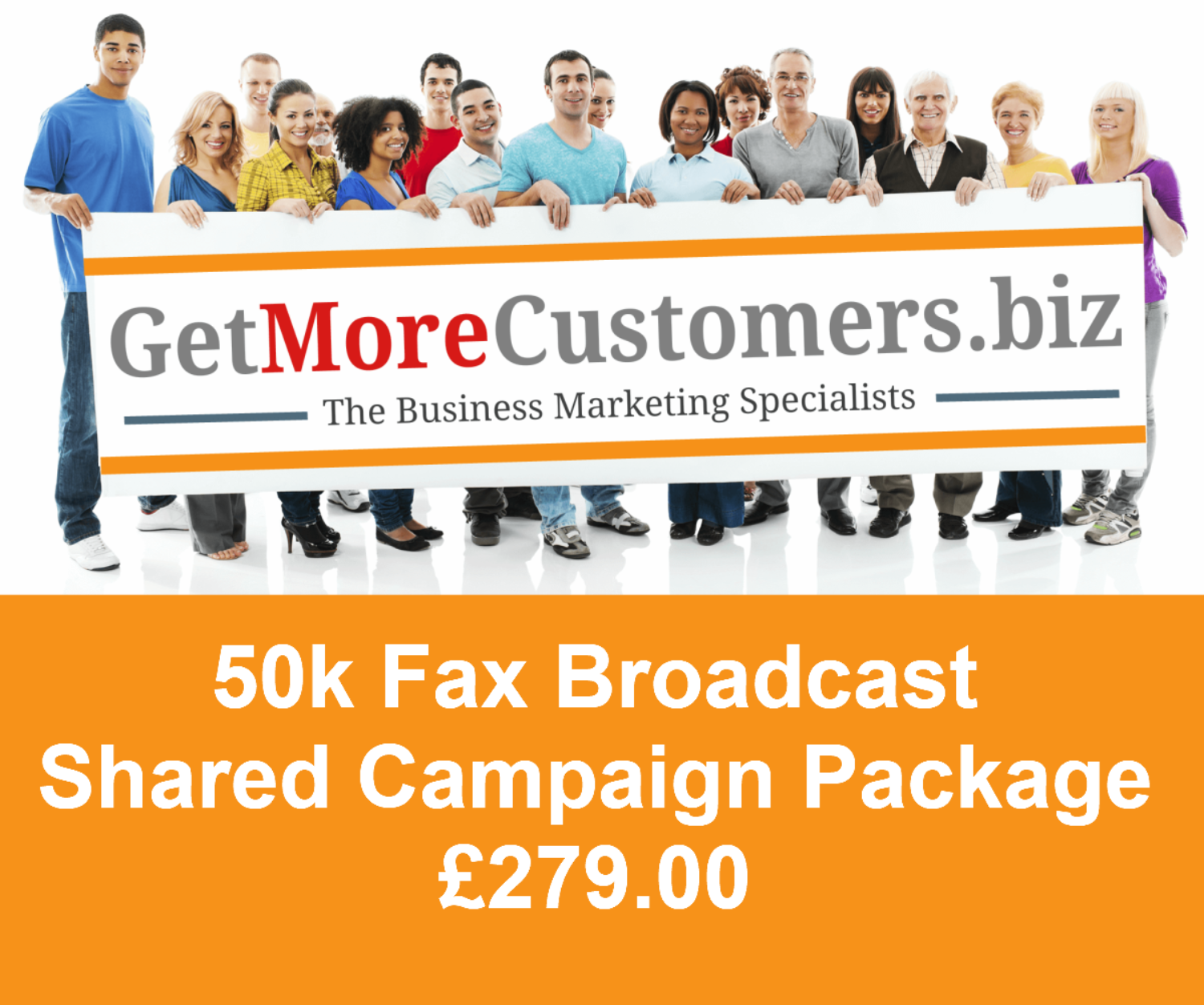 50,000 Shared Fax Broadcast Package - £279.00