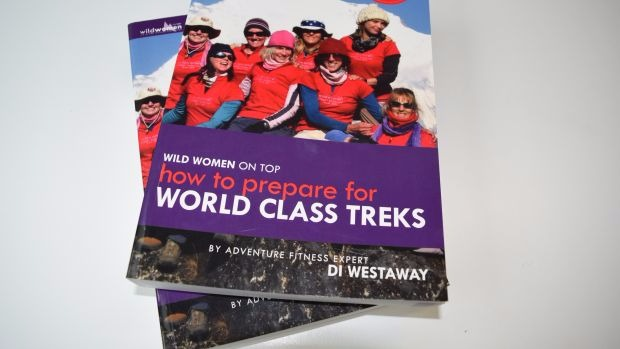 How to Prepare for World Class Treks by Di Westaway HARD COPY