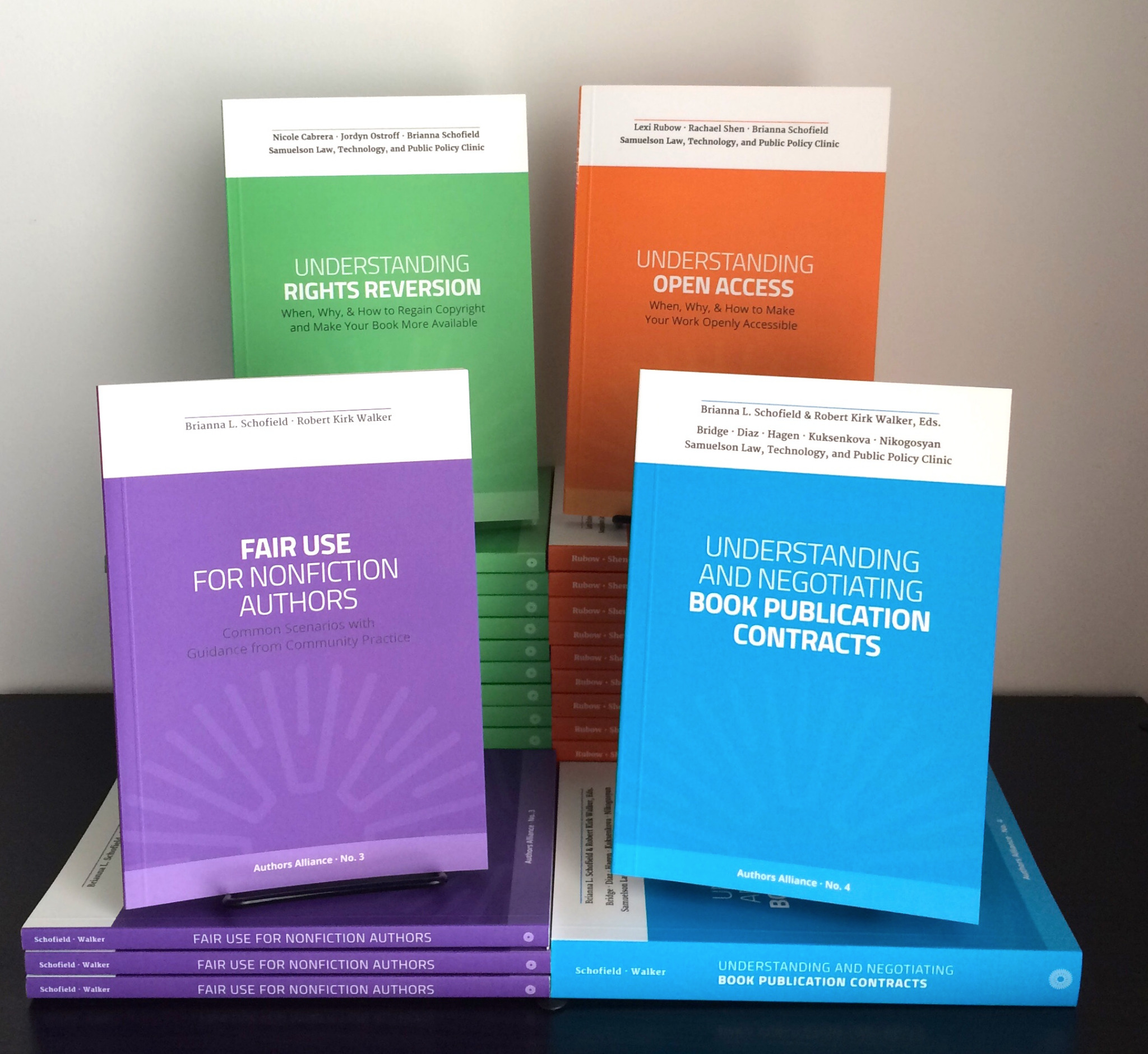 Authors Alliance Book Bundle: Fair Use, Open Access, Publication Contracts, Rights Reversion