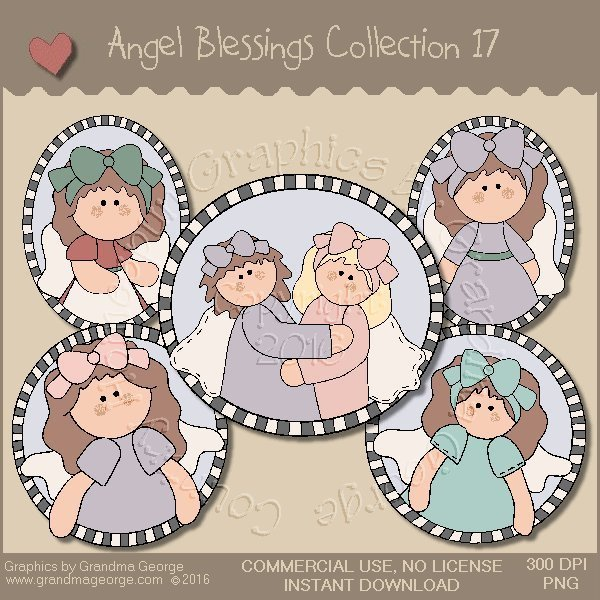 Angel Blessings Country Graphics Collection Vol. 17