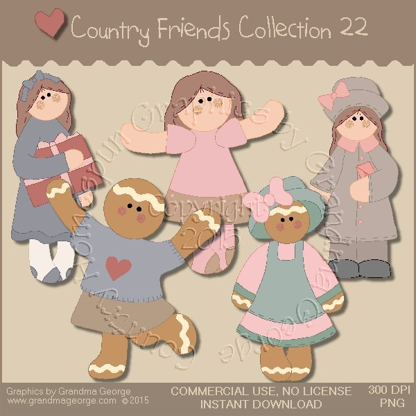 Country Friends Graphics Collection Vol. 22