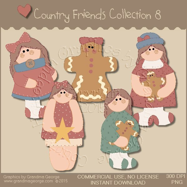 Country Friends Graphics Collection Vol. 8
