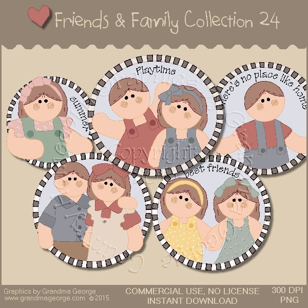 Friends & Family Graphics Collection Vol. 24
