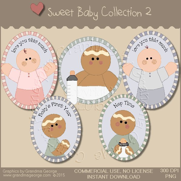 Sweet Baby Graphics Collection Vol. 2