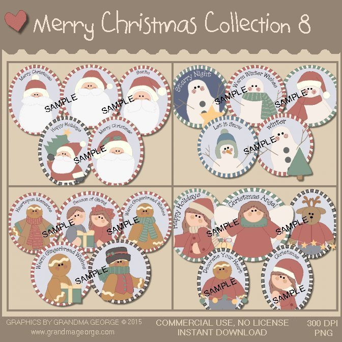 Merry Christmas Collection Vol. 8