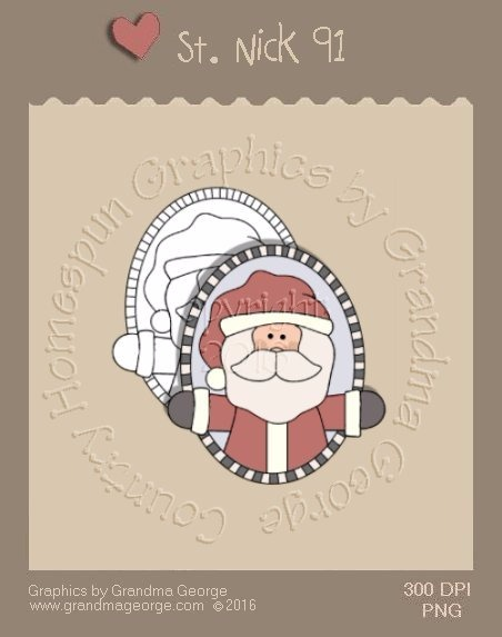 St. Nick Single Country Graphic 91