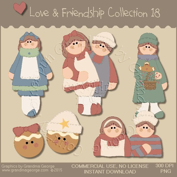 Love & Friendship Graphics Collection Vol. 18