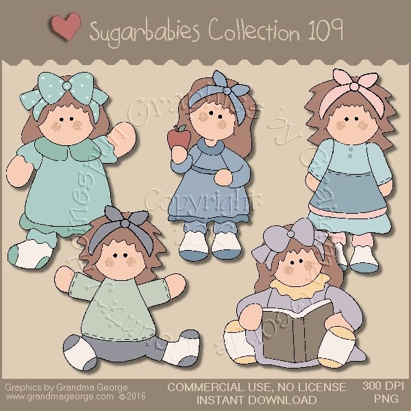 Sugarbabies Country Graphics Collection Vol. 109