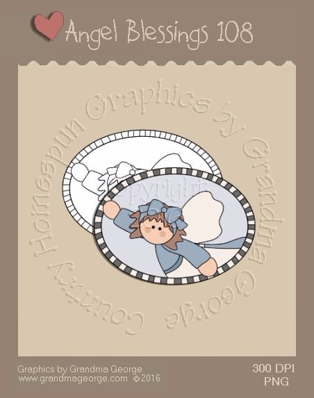 Angel Blessings Single Country Graphic 108