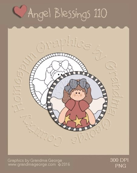 Angel Blessings Single Country Graphic 110