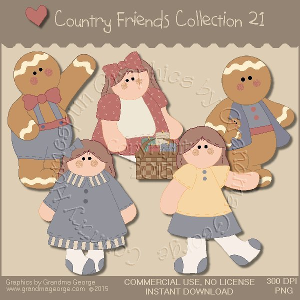 Country Friends Graphics Collection Vol. 21