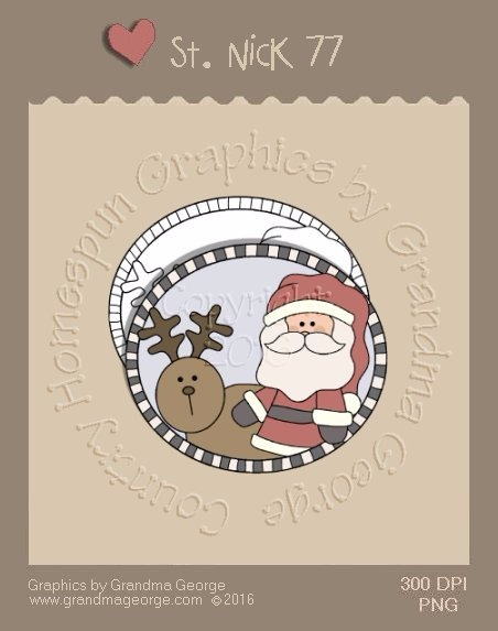 St. Nick Single Country Graphic 77