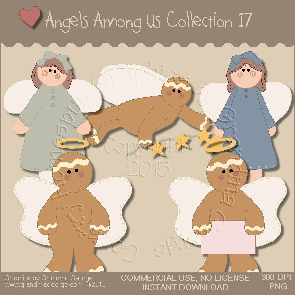Angels Among Us Graphics Collection Vol. 17
