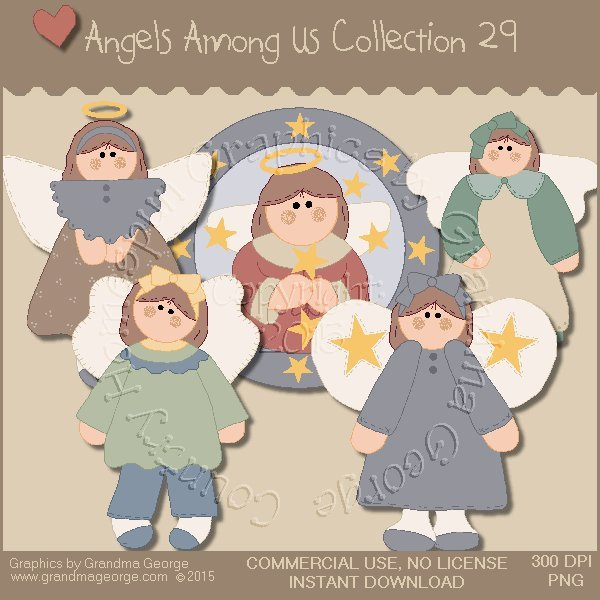 Angels Among Us Graphics Collection Vol. 29