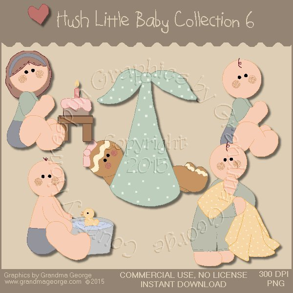 Hush Little Baby Graphics Collection Vol. 6