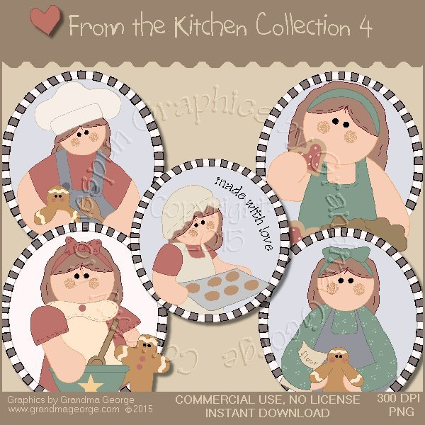 From the Kitchen Graphics Collection Vol. 4