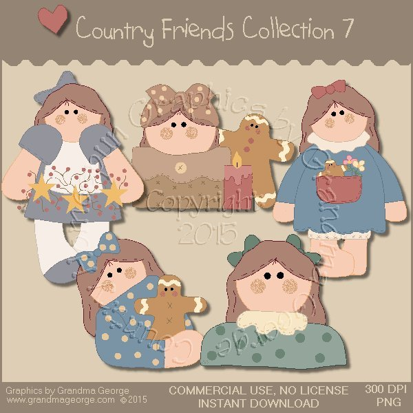 Country Friends Graphics Collection Vol. 7