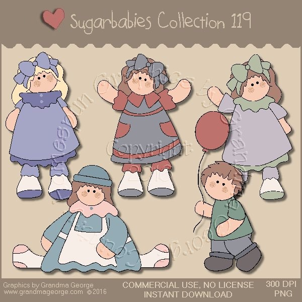Sugarbabies Country Graphics Collection Vol. 119