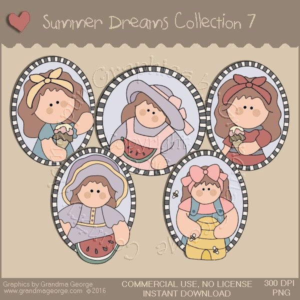 Summer Dreams Country Graphics Collection Vol. 7