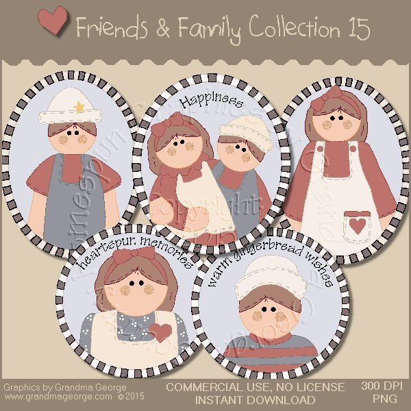 Friends & Family Graphics Collection Vol. 15