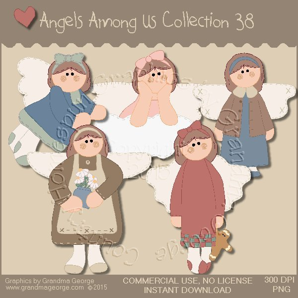 Angels Among Us Graphics Collection Vol. 38