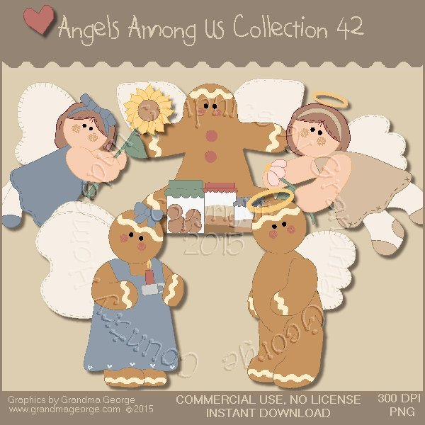 Angels Among Us Graphics Collection Vol. 42