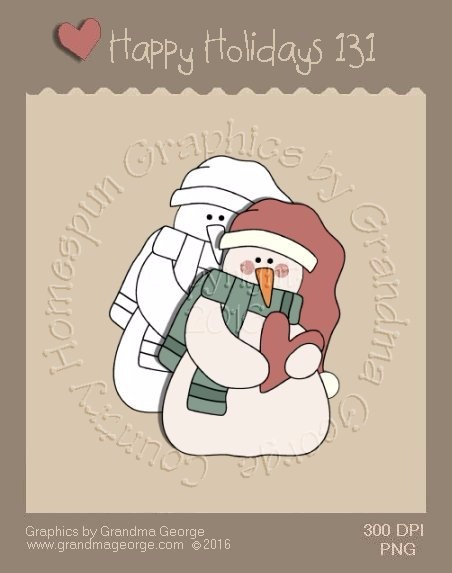 Happy Holidays Christmas Single Country Graphic 131