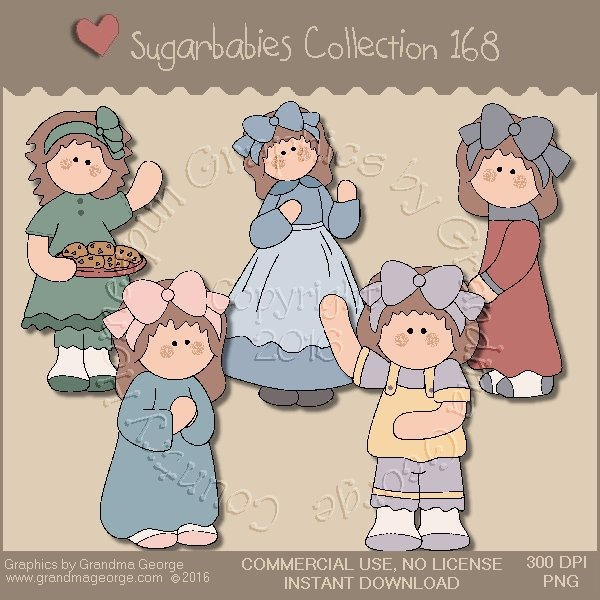 Sugarbabies Country Graphics Collection Vol. 168