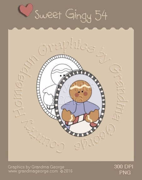 Sweet Gingy Single Country Graphic 54