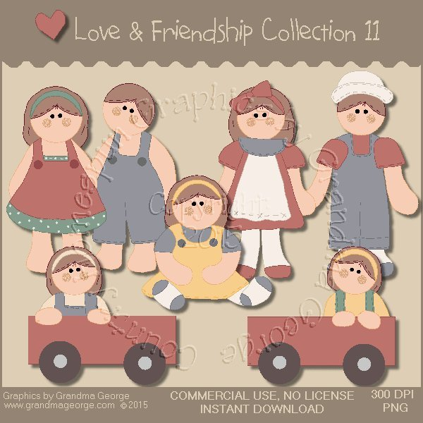 Love & Friendship Graphics Collection Vol. 11