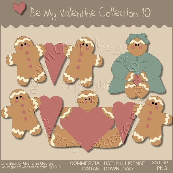 Be My Valentine Graphics Collection Vol. 10