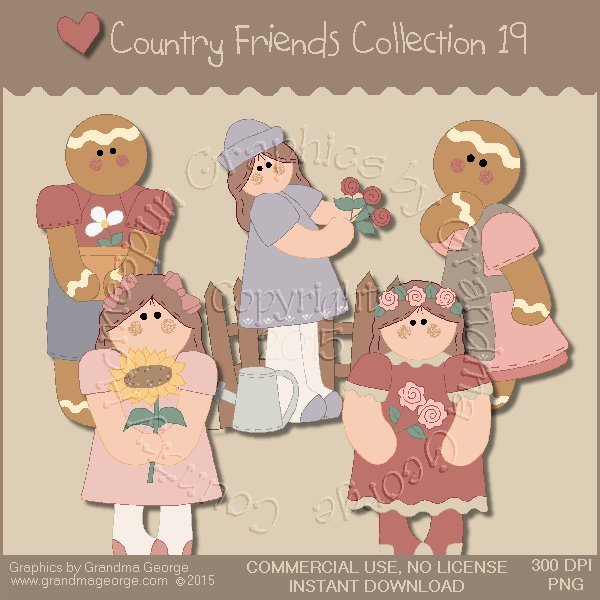 Country Friends Graphics Collection Vol. 19