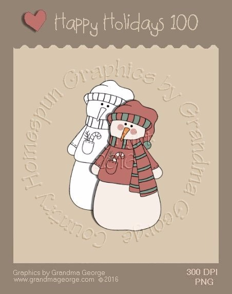 Happy Holidays Christmas Single Country Graphic 100