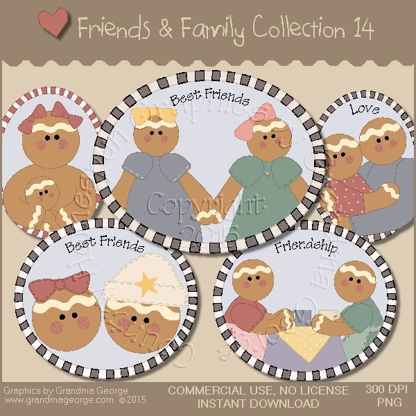 Friends & Family Graphics Collection Vol. 14