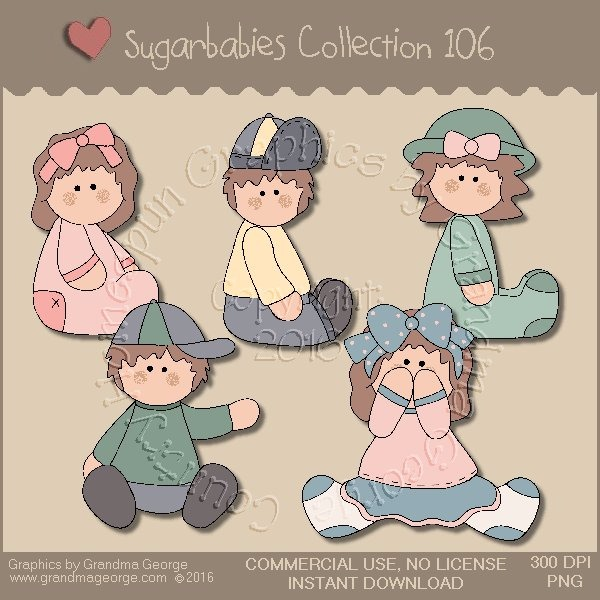 Sugarbabies Country Graphics Collection Vol. 106