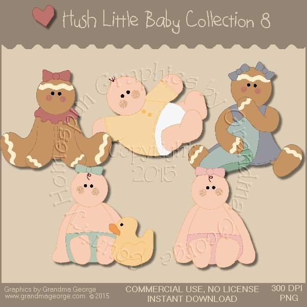Hush Little Baby Graphics Collection Vol. 8